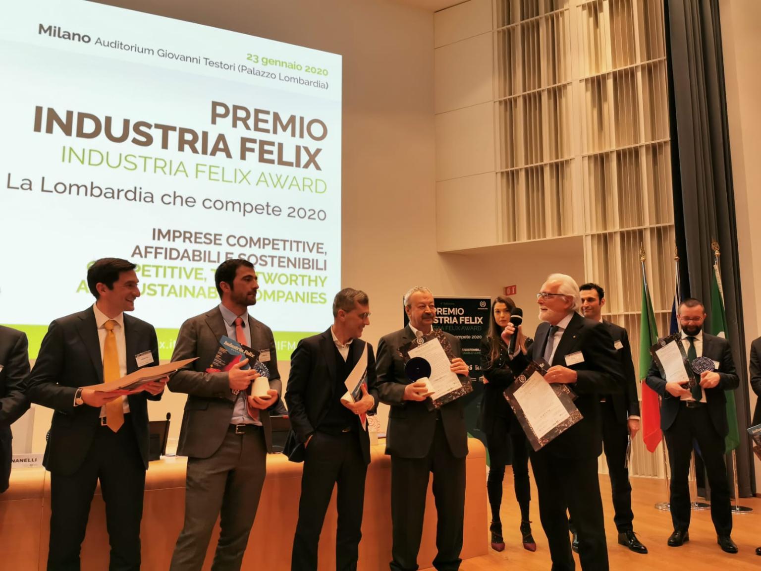 SIAD premiata come migliore impresa a vocazione internazionale per performance gestionale e affidabilità finanziaria